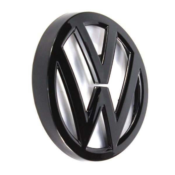 Gloss-Black-Badge-Grill-Rear-Trunk-Lid-Emblem-for-VW-Golf-MK7-Replacement