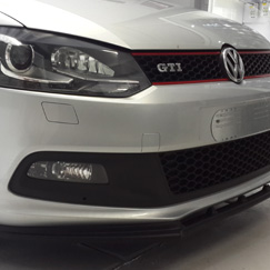 polo 6r gti 6c euro front spoiler jabsport. Black Bedroom Furniture Sets. Home Design Ideas