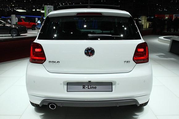 Volkswagen Polo TSI R-Line Geneva 2014 Photos (4)