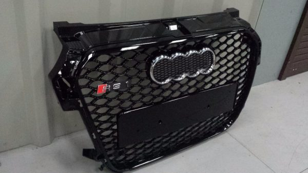 Car-Styling-Refitting-Auto-Parts-ABS-Grill-Grille-Fit-For-Audi-A1-RS1-Vehicle-2013-2016