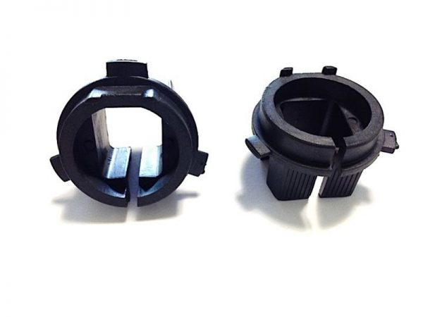 Free-Shipping-2PCS-X-HID-Xenon-Headlight-H7-Retainer-HID-Adapter-Holders-Base-For-Hyundai-Veloster