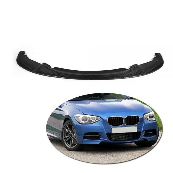 H-Style-Carbon-Fiber-Front-BUmper-Lip-font-b-Spoiler-b-font-For-BMW-1-Series