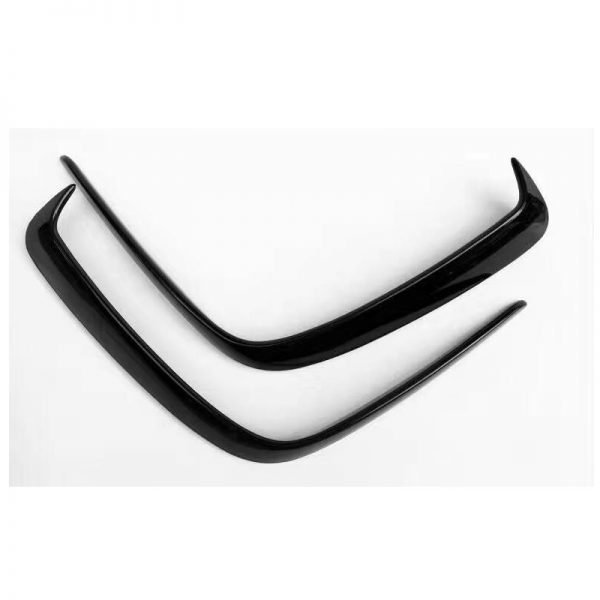 Mercedes-A-Class-W176-A45-AMG-Carbon-Fiber-Rear-Bumper-Air-Vent-Molding-Trim-canards-Splitter