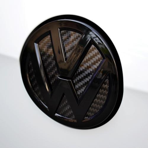 Real-Carbon-Fibre-Insert-Rear-Trunk-Badge-Kit-FIT-VW-MK7-Golf-7-car-styling