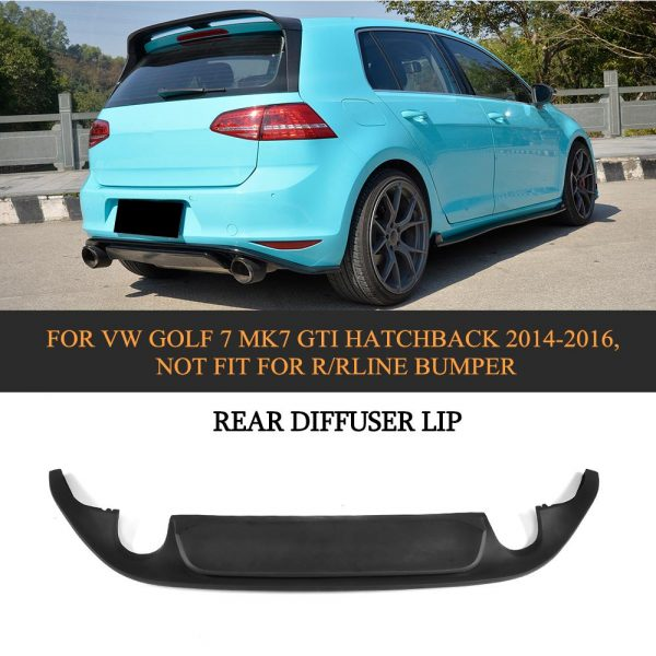 vw golf 7 gti clubsport rear diffuser jabsport. Black Bedroom Furniture Sets. Home Design Ideas