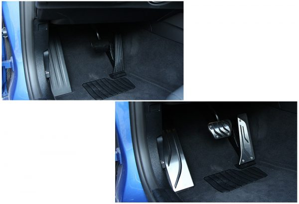AndyGo-Stainless-Steel-Foot-Rest-No-Drilling-Footrest-Pedal-Pad-Cover-For-BMW-F30-F31-316i